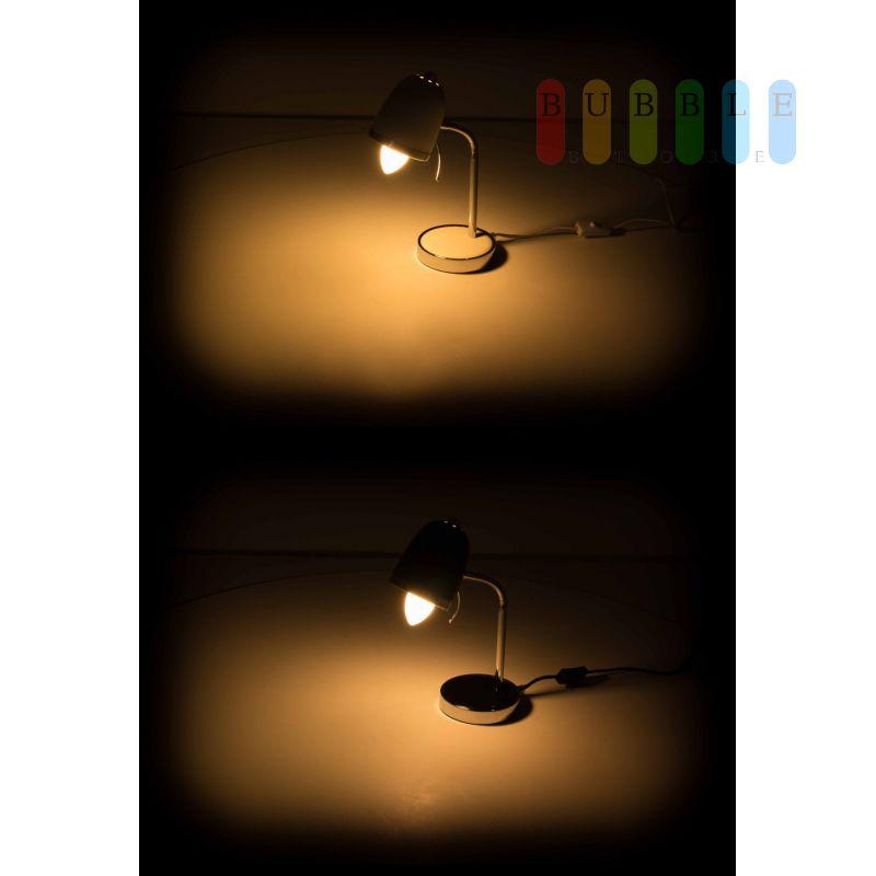 schreibtischlampe von grundig im retro design mit flexiblem hals 230. Black Bedroom Furniture Sets. Home Design Ideas