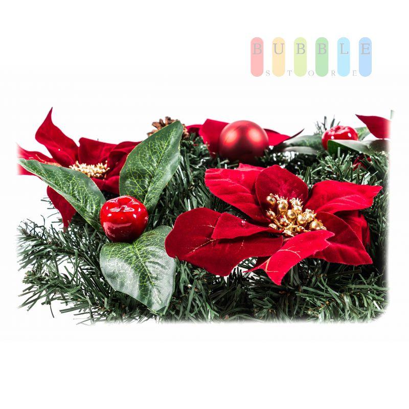 weihnachtstisch oder t rkranz f r au en und innen k. Black Bedroom Furniture Sets. Home Design Ideas