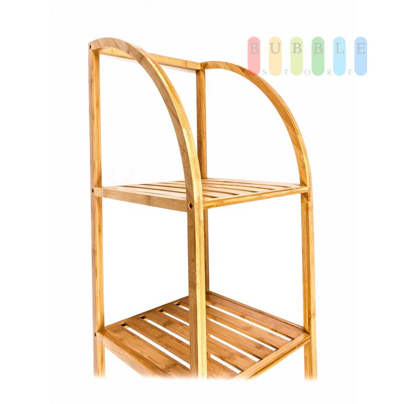 bambusregal von homestyle 3 f cher streben regalb de. Black Bedroom Furniture Sets. Home Design Ideas
