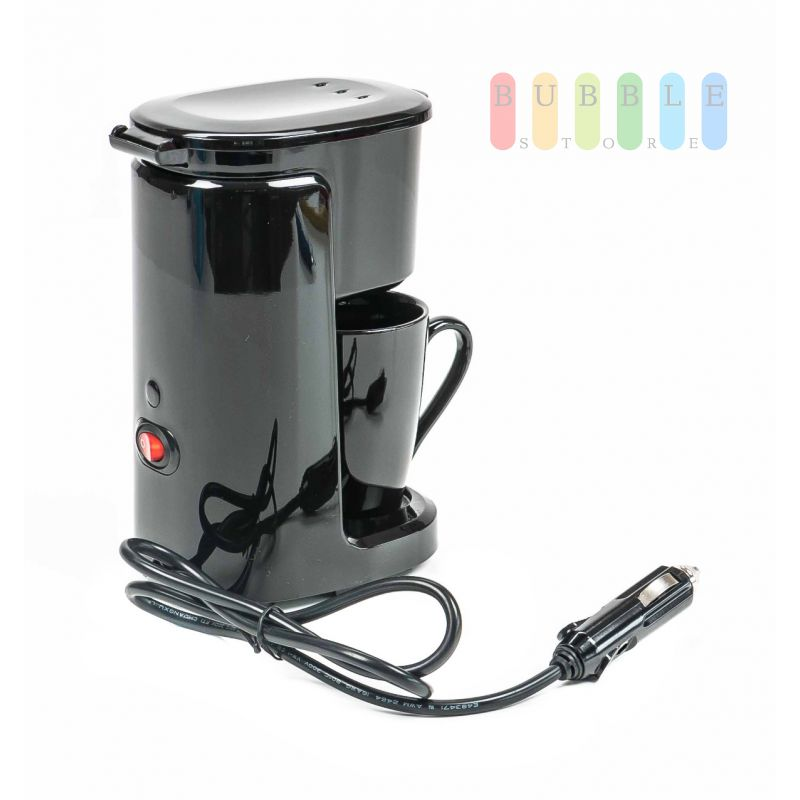 kaffeemaschine kaffee f r 1 tasse dauerfilter auto camping wohnwagen 29 99. Black Bedroom Furniture Sets. Home Design Ideas