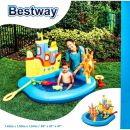 Kinderplanschbecken von Bestway Piratenboot-Design,...