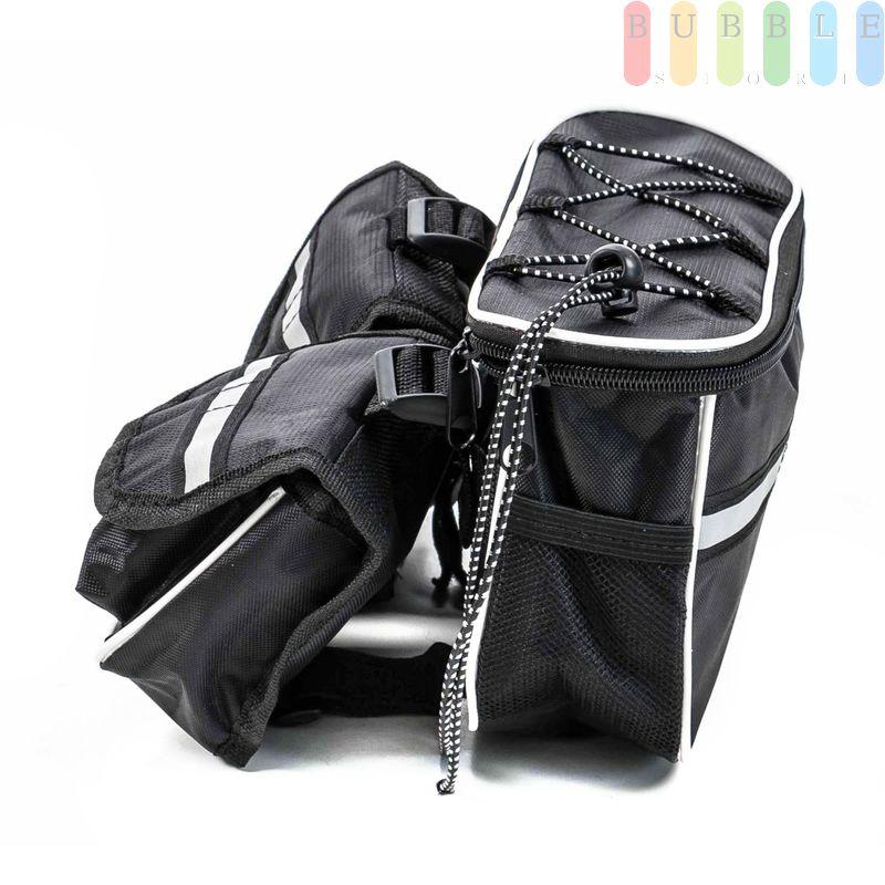 Fahrrad-Rahmen/Lenker-Tasche von Dunlop zum Umhängen mit ...