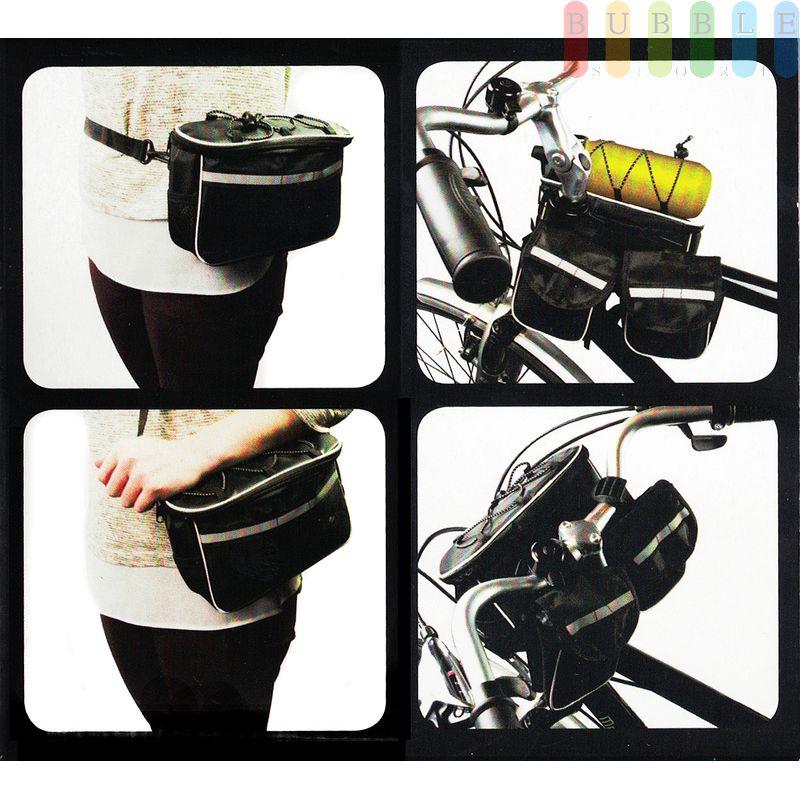 Fahrradrahmen Lenkertasche von Dunlop zum Umhängen mit ...